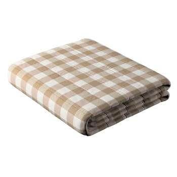Sengeteppe quiltet<br/>10cm striper fra kolleksjonen Quadro, Stoffets bredde: 136-08