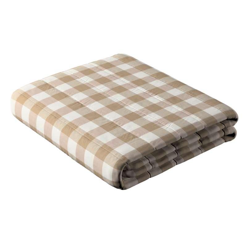 Prehoz  s pozdĺžným prešívaním V kolekcii Quadro, tkanina: 136-08