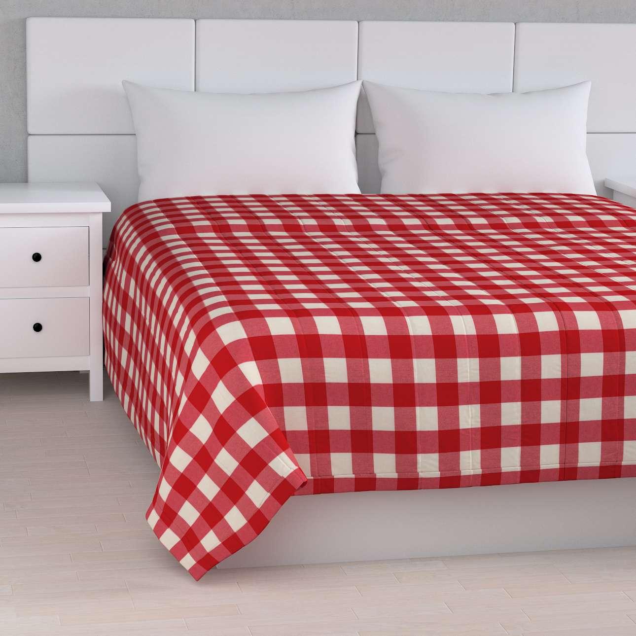 Prehoz na posteľ jednoduchý V kolekcii Quadro, tkanina: 136-18
