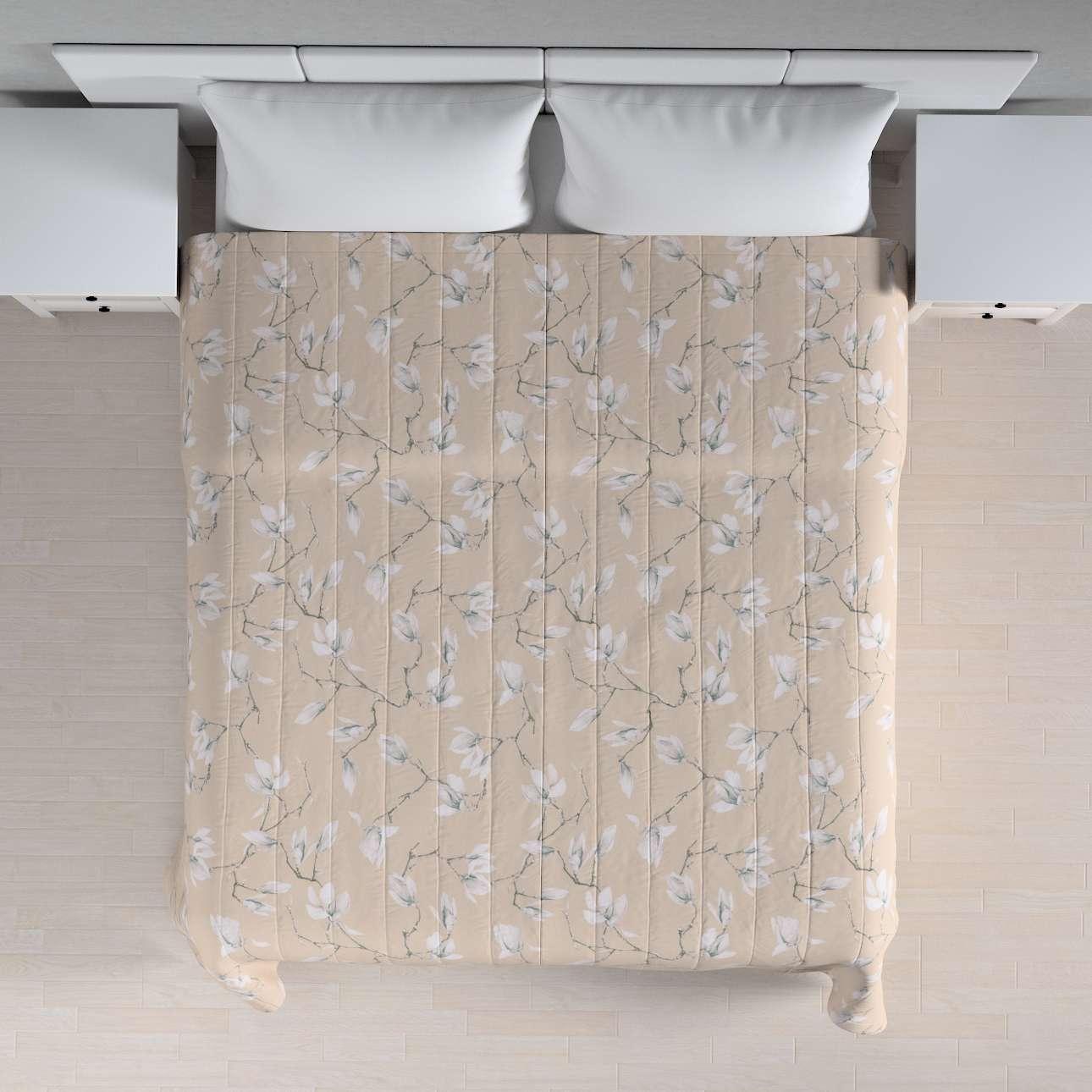 Sengeteppe quiltet<br/>10cm striper 120g/m2 260 x 210 cm fra kolleksjonen Flowers, Stoffets bredde: 311-12