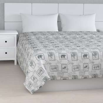 Stripe quilted throw 260 × 210 cm (102 × 83 inch) in collection SALE, fabric: 630-18