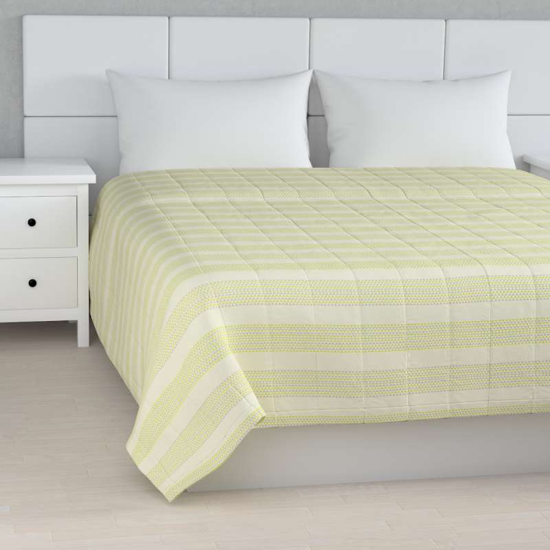 Stripe quilted throw in collection SALE, fabric: 140-35