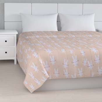Stripe quilted throw in collection Apanona, fabric: 151-00