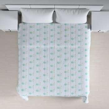 Sengetæppe quiltet<br/>10cm striber 120g/m 260 x 210 cm fra kollektionen Apanona, Stof: 151-02