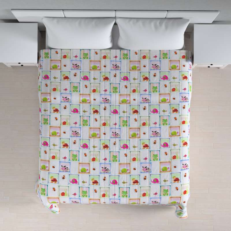 Prehoz na posteľ jednoduchý V kolekcii Apanona, tkanina: 151-04