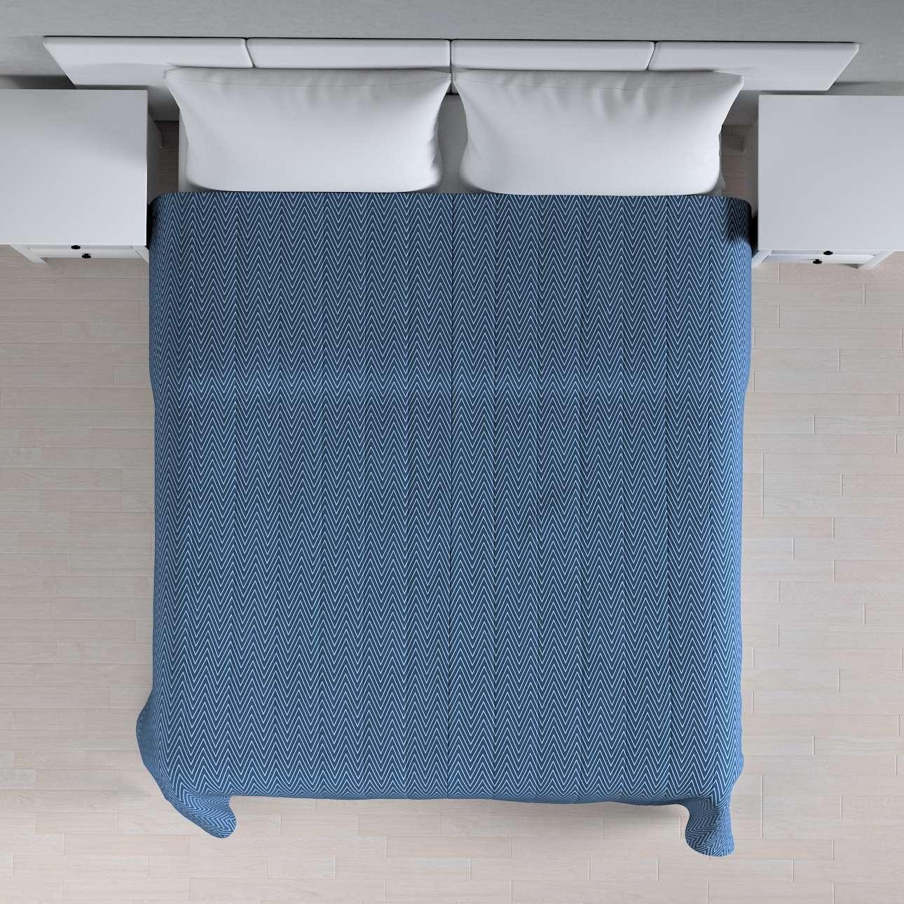 Sengetæppe quiltet<br/>10cm striber 120g/m 260 x 210 cm fra kollektionen Brooklyn, Stof: 137-88