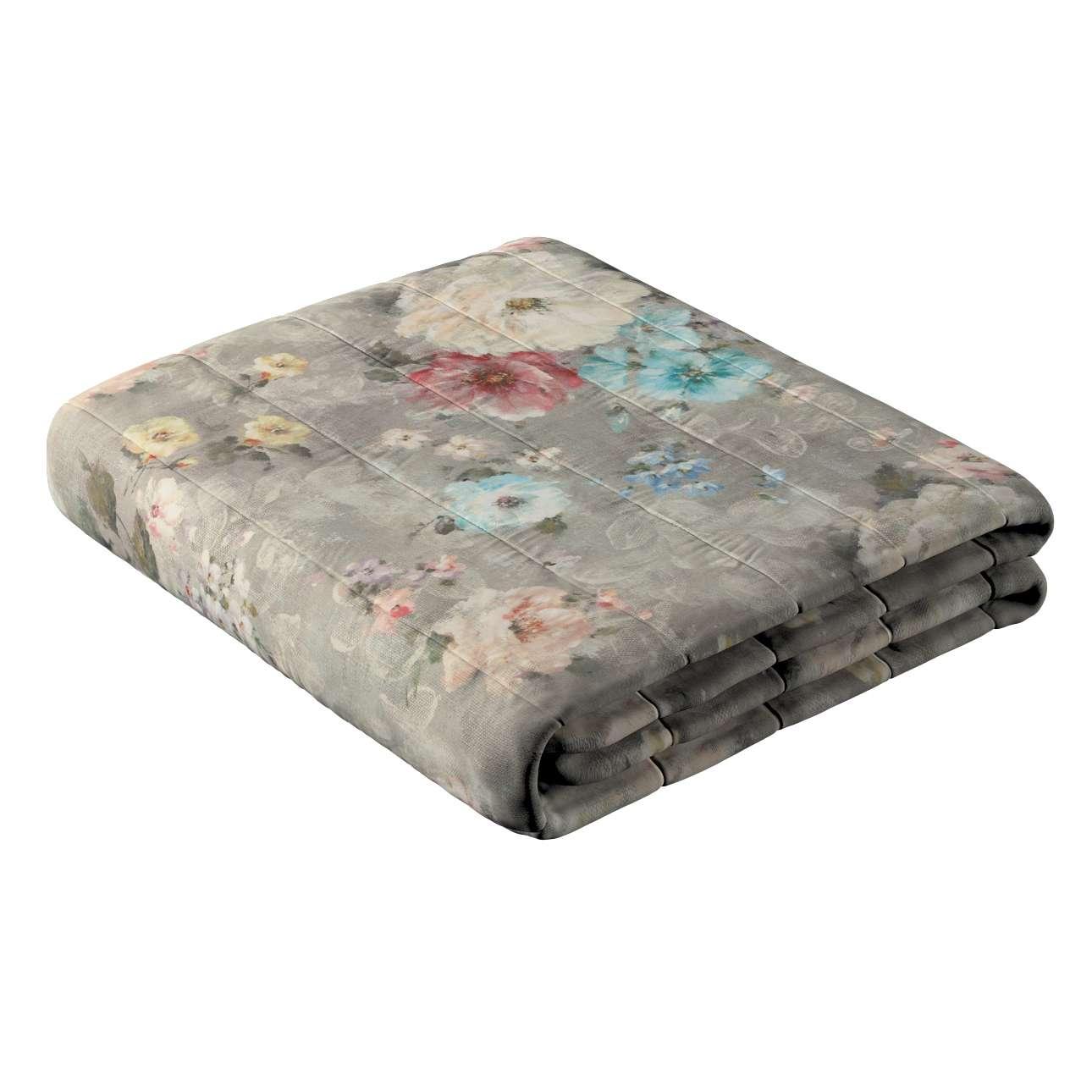 Narzuta pikowana w pasy w kolekcji Monet, tkanina: 137-81