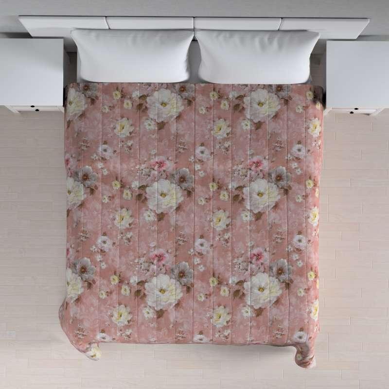 Sengeteppe quiltet<br/>10cm striper fra kolleksjonen Monet , Stoffets bredde: 137-83