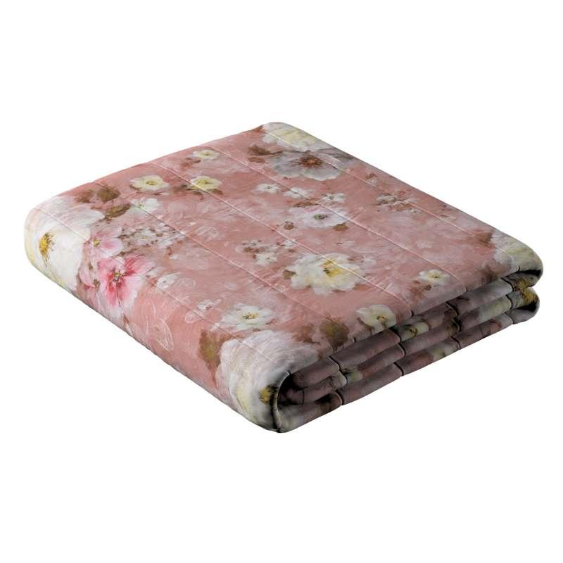 Narzuta pikowana w pasy w kolekcji Monet, tkanina: 137-83
