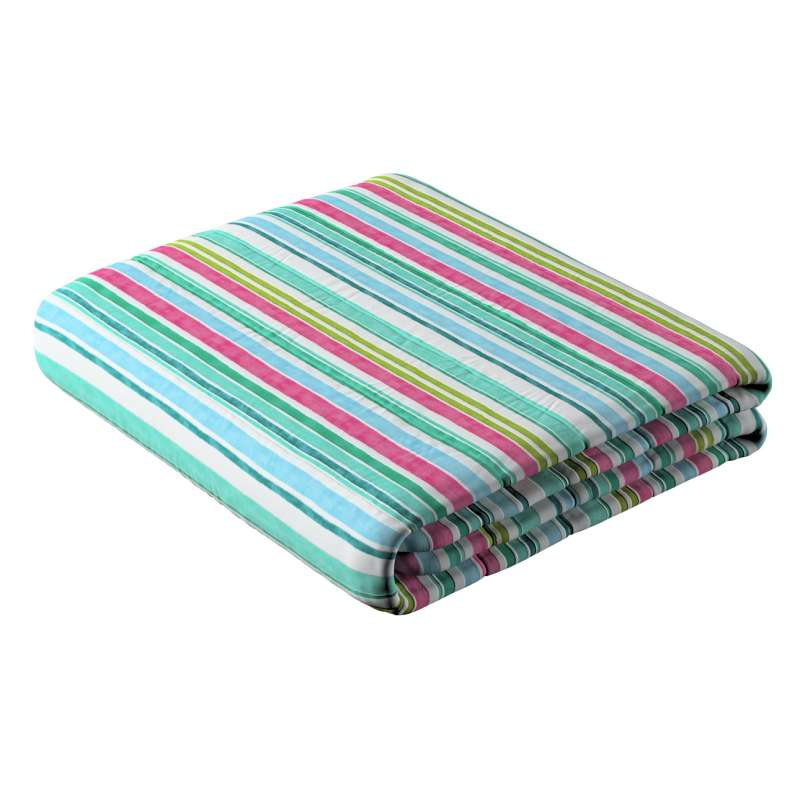 Stripe quilted throw in collection Monet, fabric: 140-03