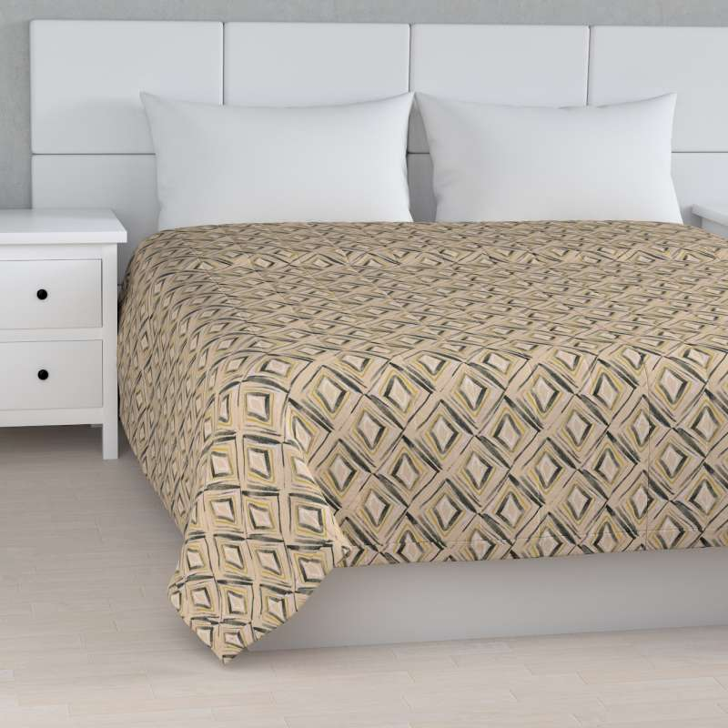 Stripe quilted throw in collection SALE, fabric: 140-46