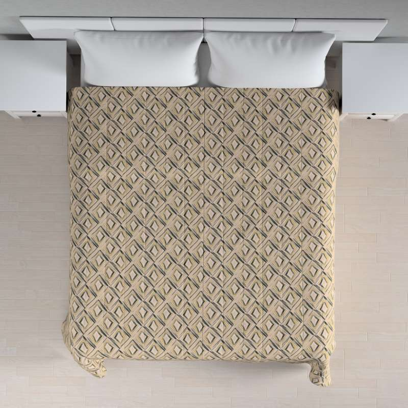 Stripe quilted throw in collection Londres, fabric: 140-46