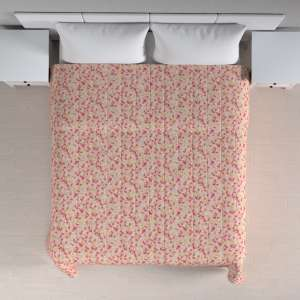 Quilted throw (vertical quilt pattern) 260 x 210 cm (102 x 83 inch) in collection Londres, fabric: 140-47