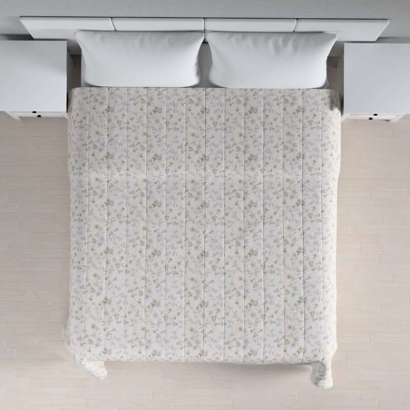 Stripe quilted throw in collection Mirella, fabric: 140-42