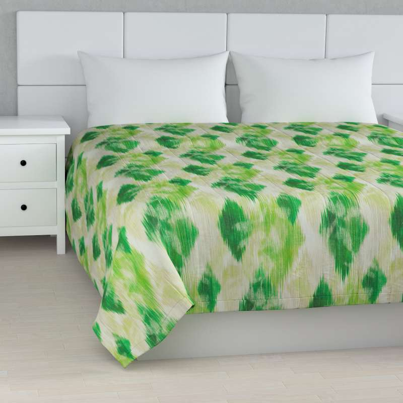 Stripe quilted throw in collection Aquarelle, fabric: 140-70