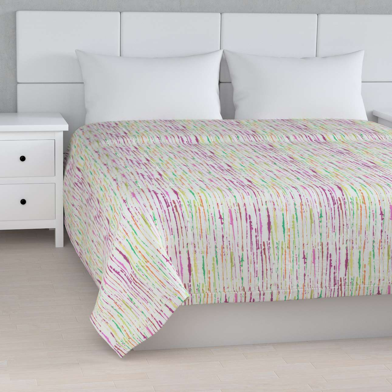 Stripe quilted throw in collection SALE, fabric: 140-72