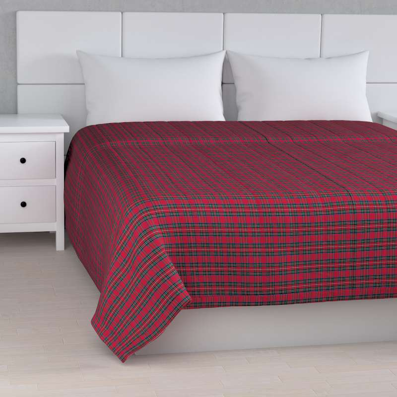 Stripe quilted throw in collection Bristol, fabric: 126-29