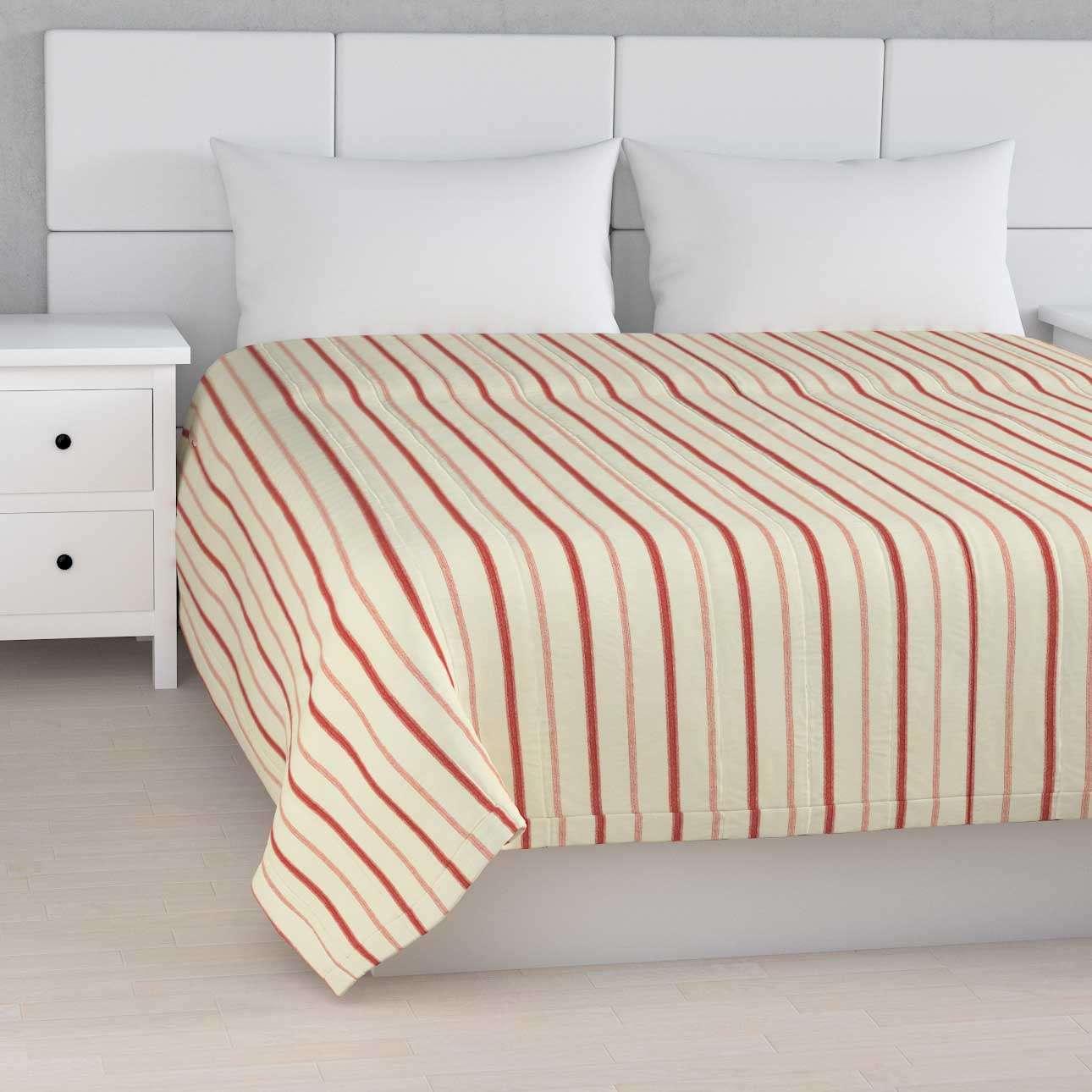 Prehoz  s pozdĺžným prešívaním V kolekcii Avinon, tkanina: 129-15