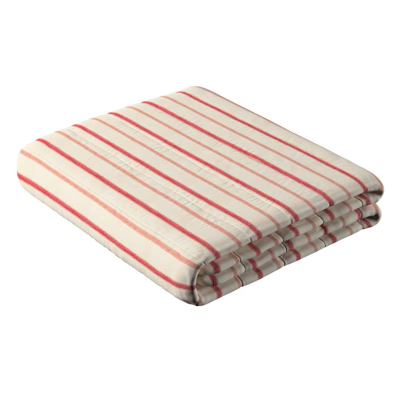 Stripe quilted throw in collection Avinon, fabric: 129-15