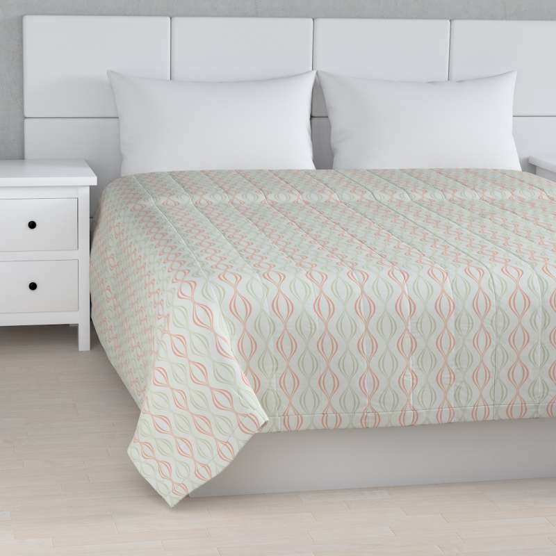 Stripe quilted throw in collection Geometric, fabric: 141-49