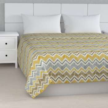 Quilted throw (vertical quilt pattern) 260 x 210 cm (102 x 83 inch) in collection Acapulco, fabric: 141-39