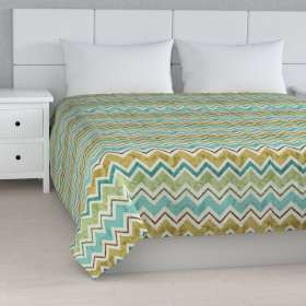 Stripe quilted throw