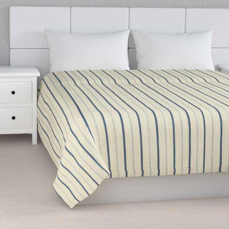 Tagesdecke mit Streifen-Steppung von der Kollektion Avinon, Stoff: 129-66