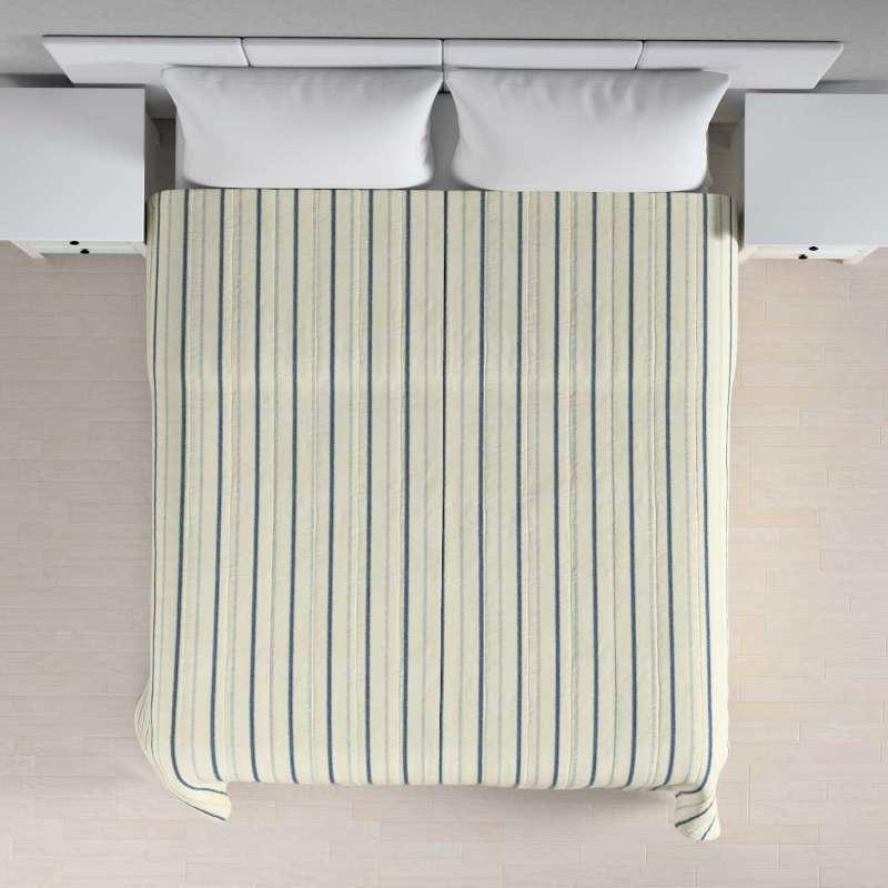 Sengeteppe quiltet<br/>10cm striper fra kolleksjonen Avinon, Stoffets bredde: 129-66