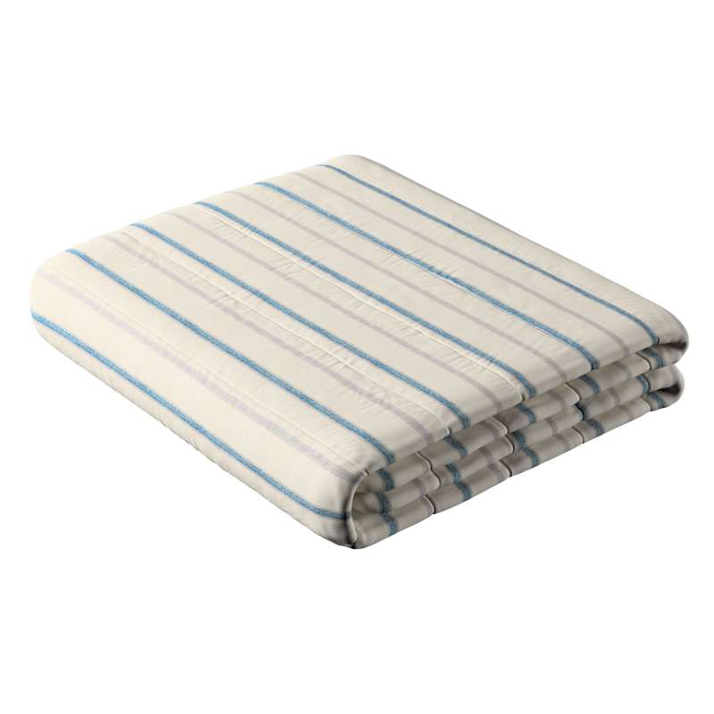 Stripe quilted throw in collection Avinon, fabric: 129-66