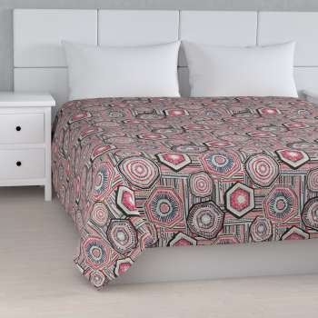 Stripe quilted throw in collection New Art, fabric: 141-54