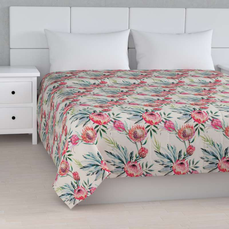 Stripe quilted throw in collection New Art, fabric: 141-59