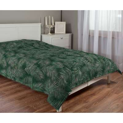 Stripe quilted throw in collection Velvet, fabric: 704-21