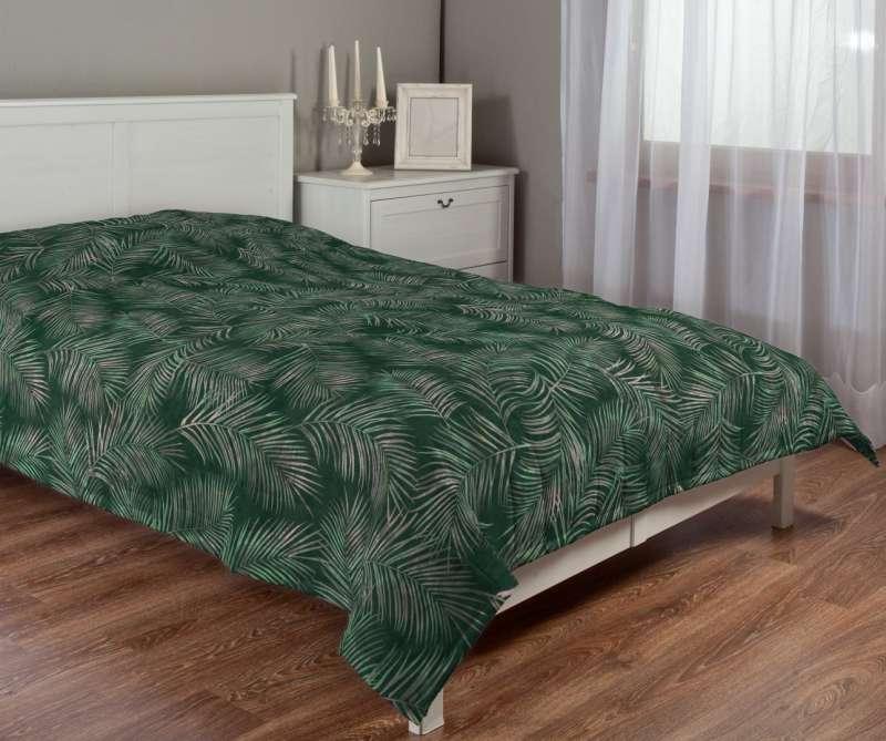 Sengeteppe quiltet<br/>10cm striper fra kolleksjonen Velvet, Stoffets bredde: 704-21