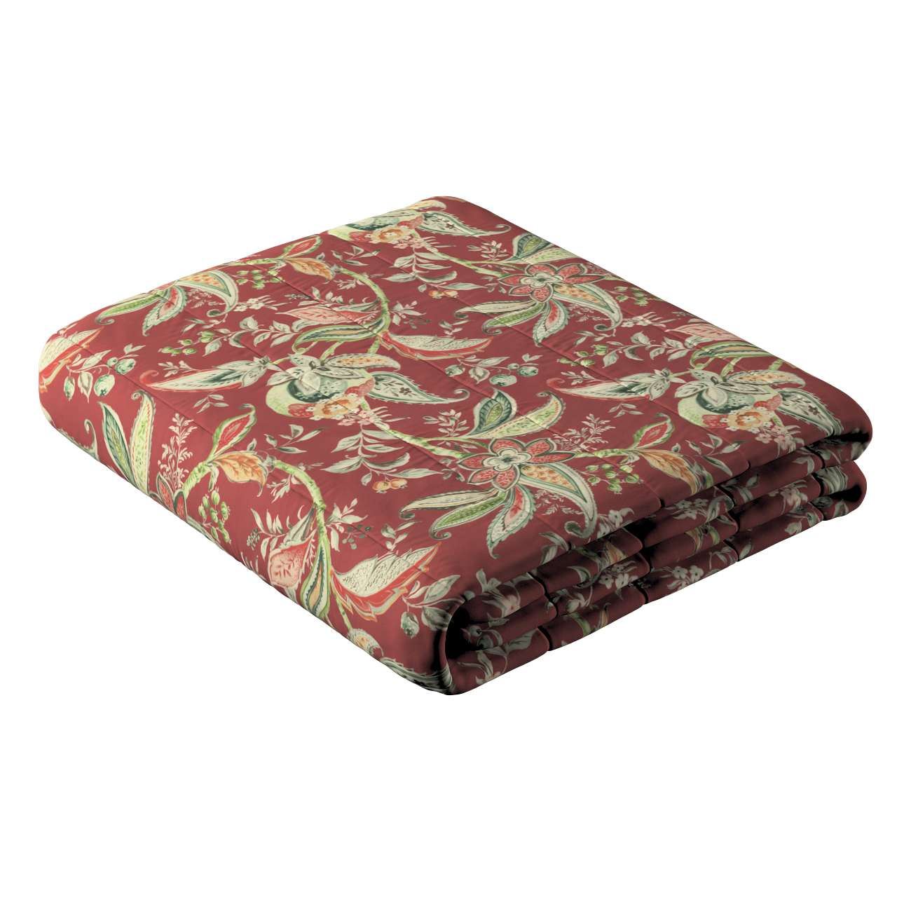Narzuta pikowana w pasy w kolekcji Gardenia, tkanina: 142-12