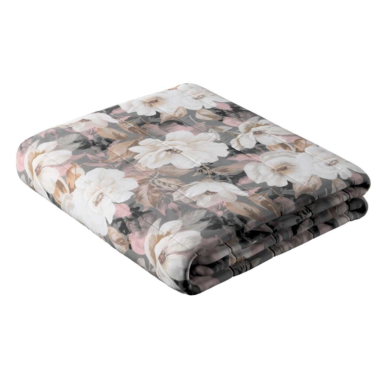 Narzuta pikowana w pasy w kolekcji Gardenia, tkanina: 142-13