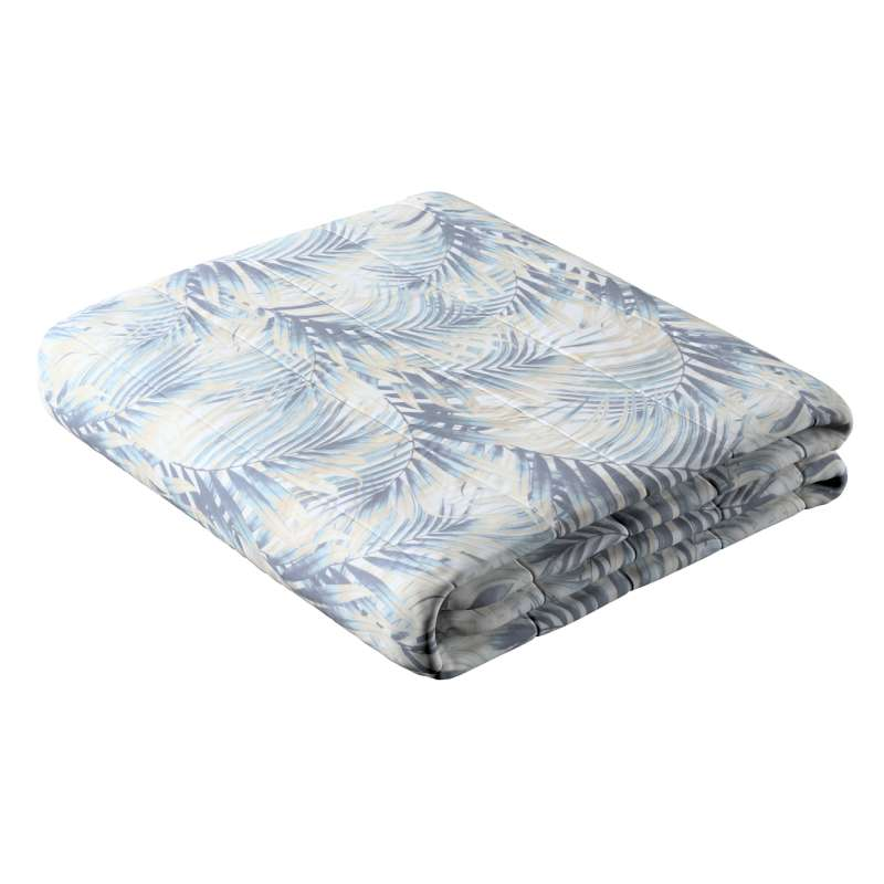 Stripe quilted throw in collection Gardenia, fabric: 142-16
