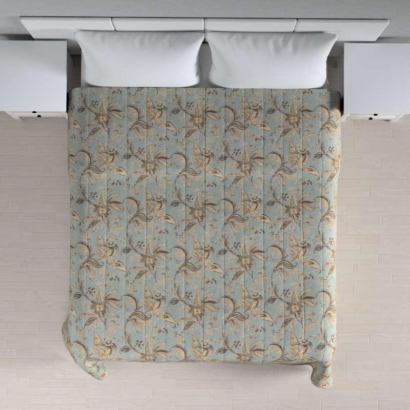 Sengeteppe quiltet<br/>10cm striper fra kolleksjonen Gardenia, Stoffets bredde: 142-18
