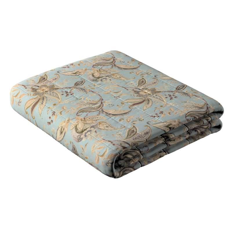 Narzuta pikowana w pasy w kolekcji Gardenia, tkanina: 142-18
