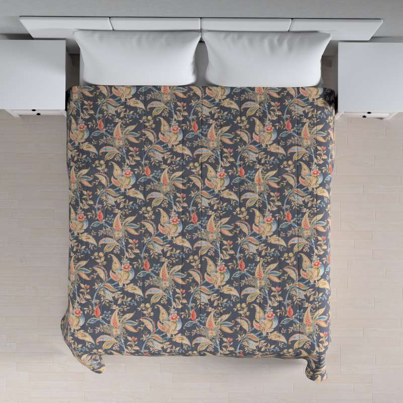 Narzuta pikowana w pasy w kolekcji Gardenia, tkanina: 142-19