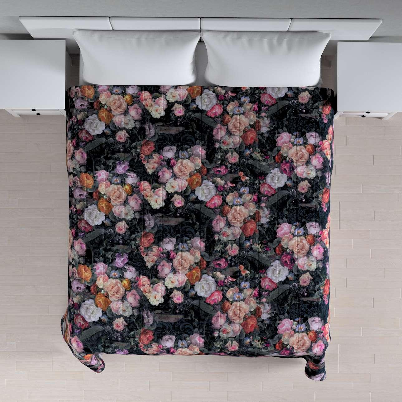 Prehoz  s pozdĺžným prešívaním V kolekcii Gardenia, tkanina: 161-02