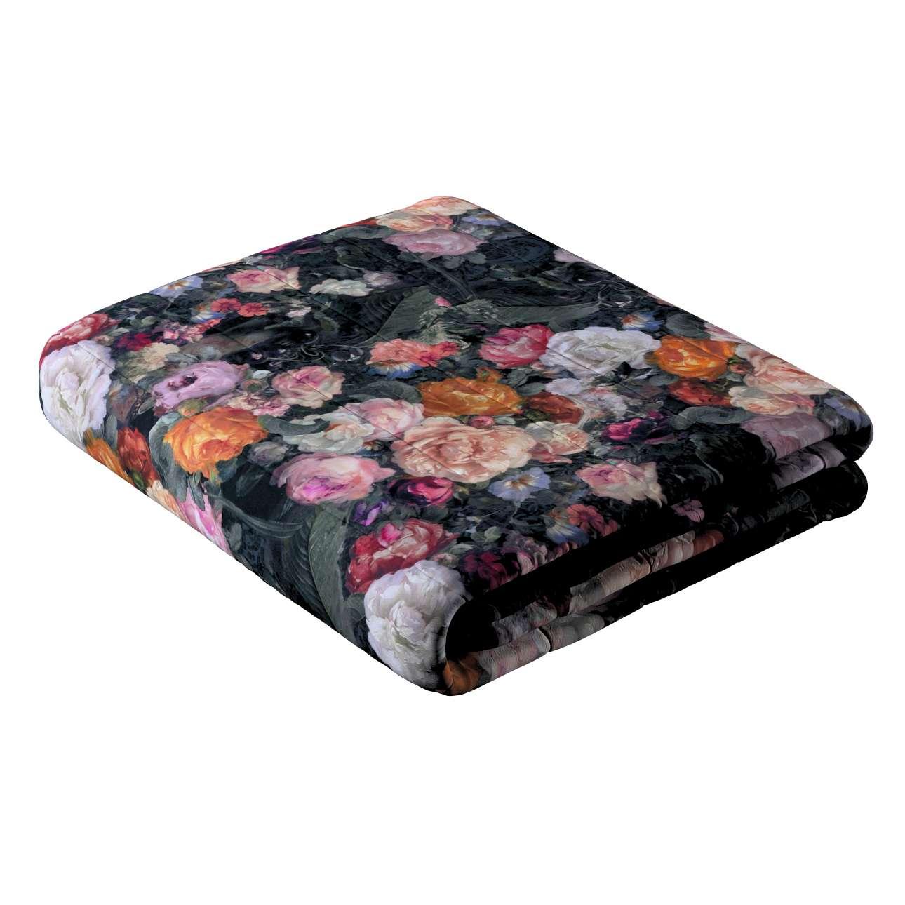 Narzuta pikowana w pasy w kolekcji Gardenia, tkanina: 161-02