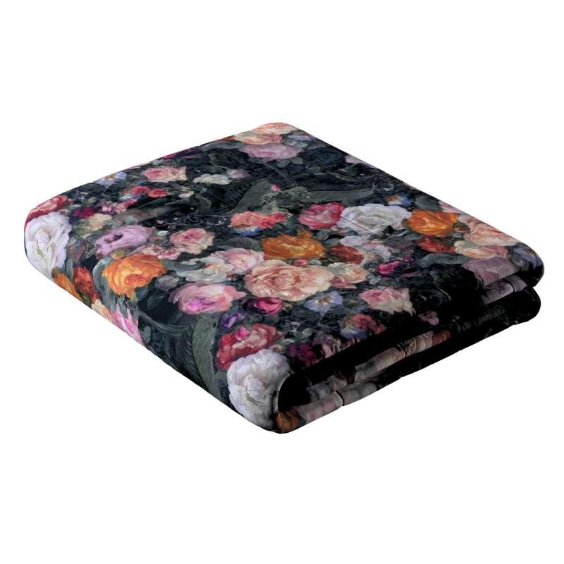 Sengetæppe quiltet<br/>10cm striber fra kollektionen Gardenia, Stof: 161-02
