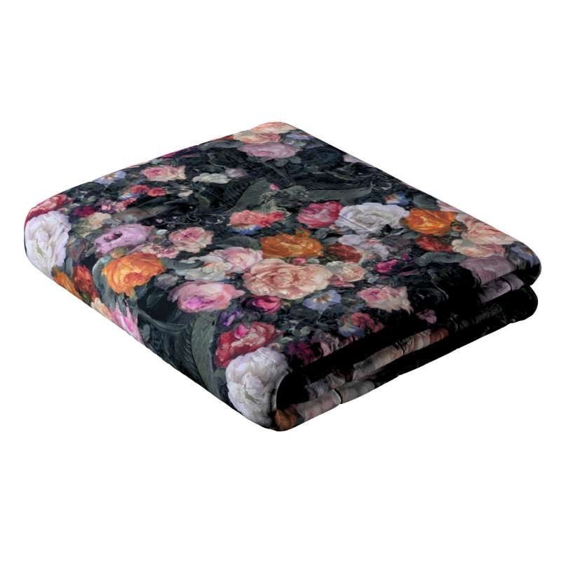 Sengeteppe quiltet<br/>10cm striper fra kolleksjonen Gardenia, Stoffets bredde: 161-02