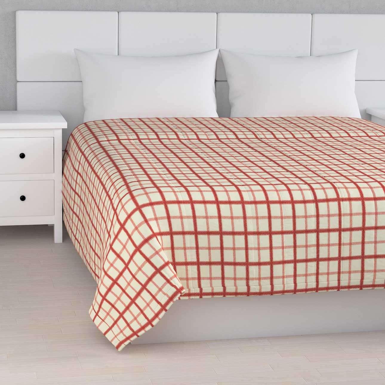 Sengetæppe quiltet<br/>10cm striber 120g/m 260 x 210 cm fra kollektionen Avinon, Stof: 131-15