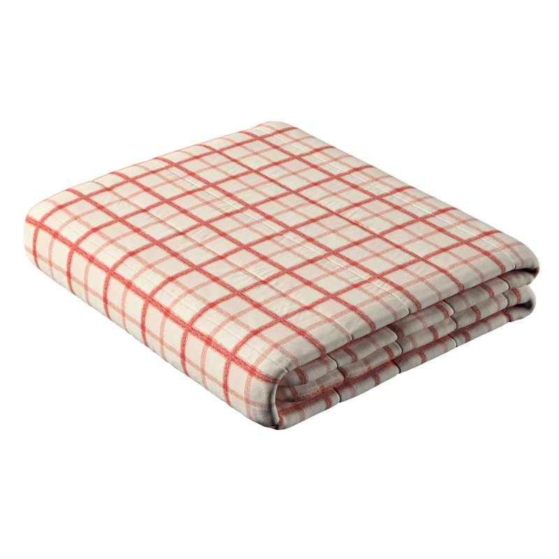 Stripe quilted throw in collection Avinon, fabric: 131-15