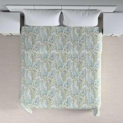 Sengeteppe quiltet<br/>10cm striper fra kolleksjonen Pastel Forest, Stoffets bredde: 142-46