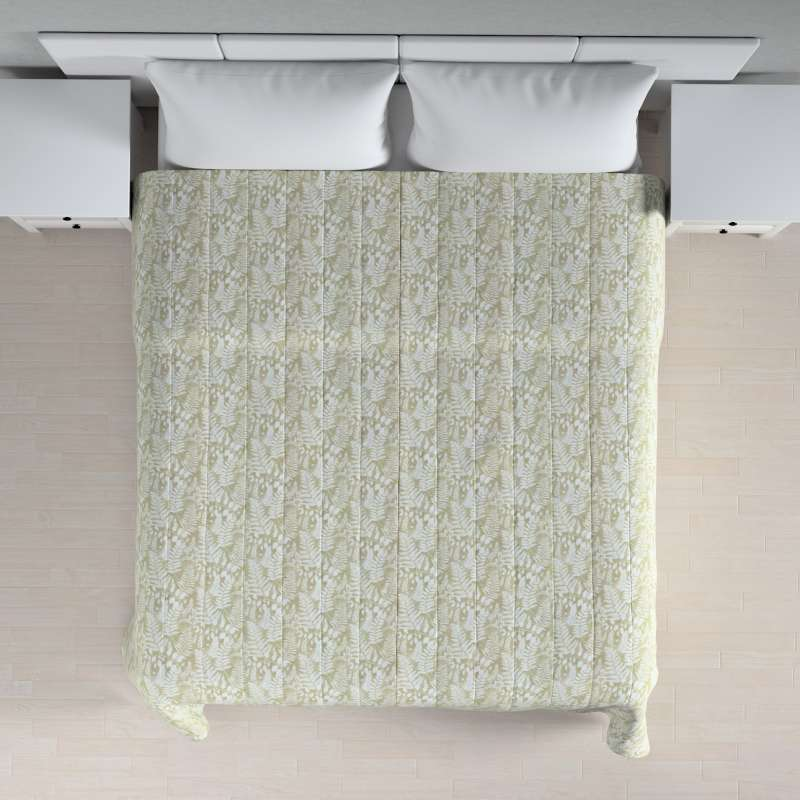 Stripe quilted throw in collection Pastel Forest, fabric: 142-50