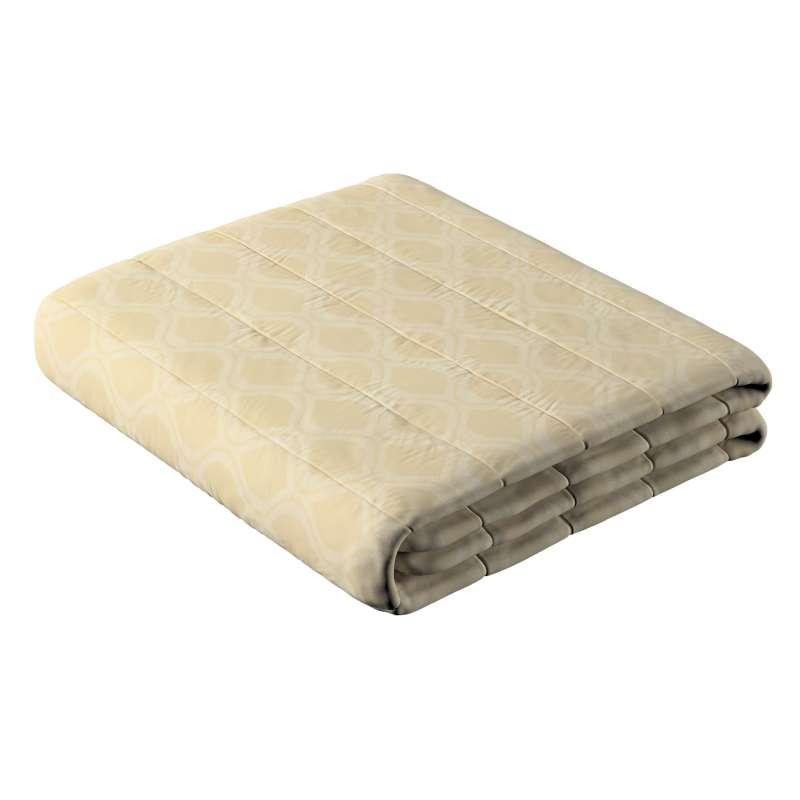 Sengeteppe quiltet<br/>10cm striper fra kolleksjonen Damasco, Stoffets bredde: 142-53