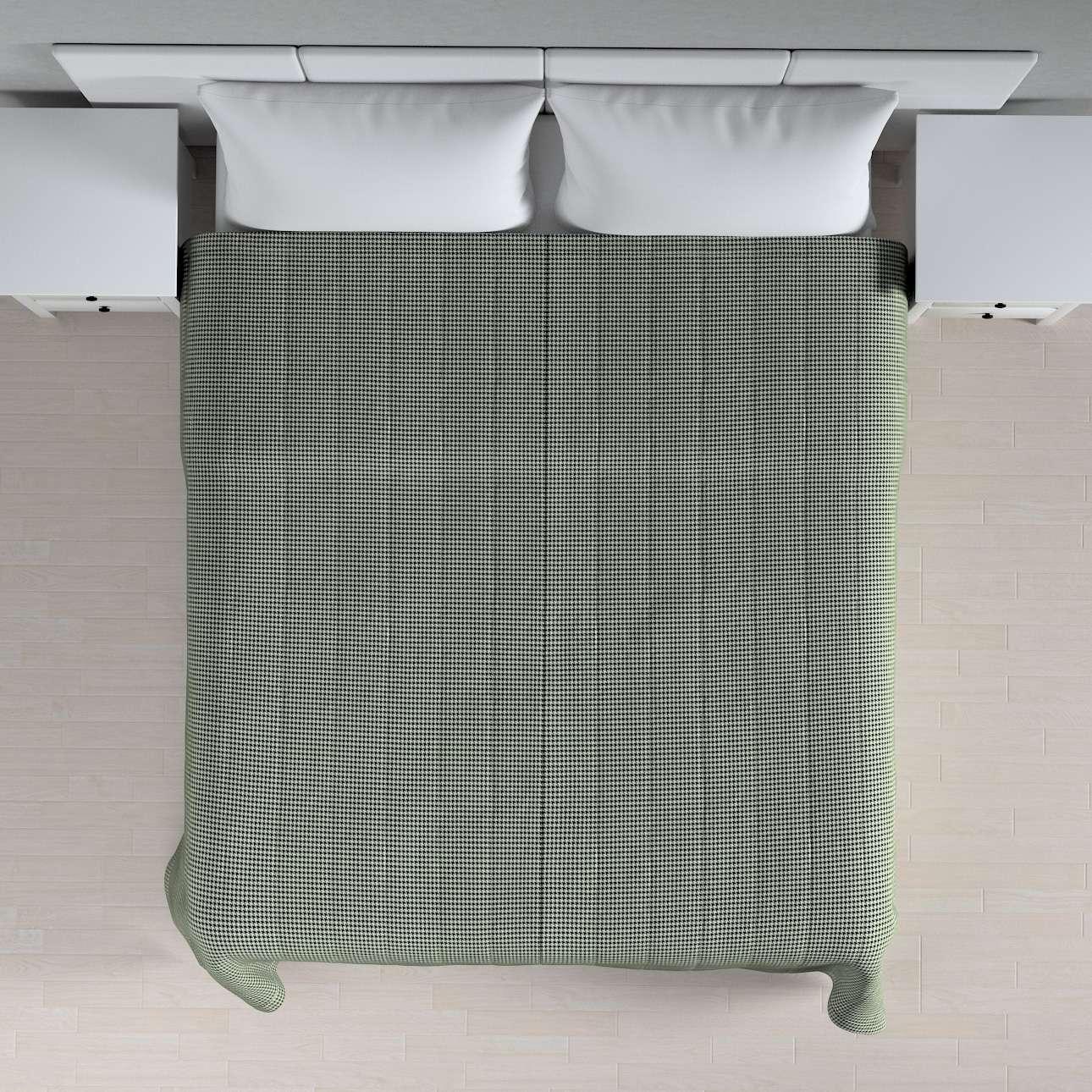Sengeteppe quiltet<br/>10cm striper fra kolleksjonen Black & White, Stoffets bredde: 142-77