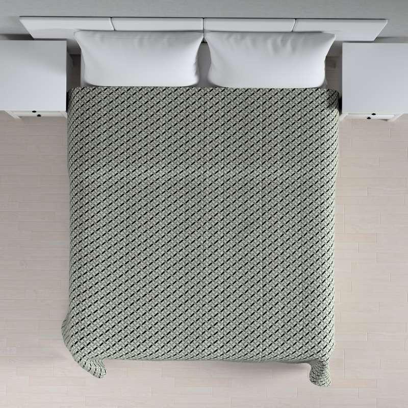 Prehoz na posteľ jednoduchý V kolekcii Black & White, tkanina: 142-78